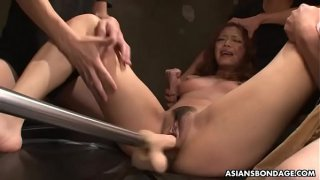 Aya Amamiya likes it when it hurts during an orgasm
