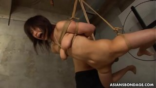 Kinky Kana Sato is getting throatfucked and forced to cum