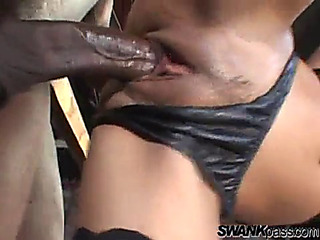 Intensive interracial sex with the lustful kaylani lei