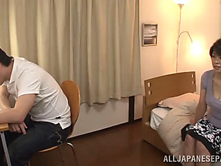 Coarse sex with the older oriental mikoto tsukawa