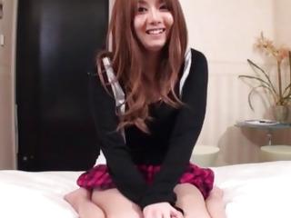 Schoolgirl porn specific along nasty Yuna Hirose