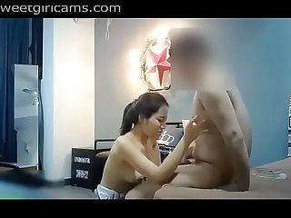 Secret Cam of Chiese Couple Sex
