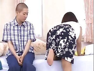Handsome Lucky Son Fucked Japanese Young Girl