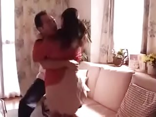 Japanese beauty wife forced by father in law when husband not home FULL HERE: