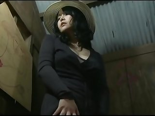 Asian Japanese mature Milf fuck with beggar in the forest toilet  ReMilf.com