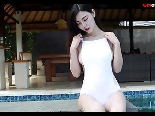 国模: 秀人网嫩模沈佳熹性感内衣诱惑 爱蜜社系列