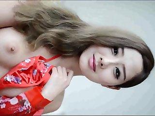 Pretty Asia girl fucking