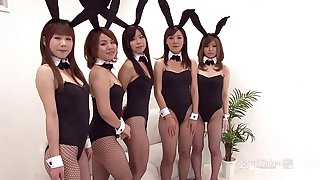 41Ticket - Japanese Bunny Orgy (Uncensored JAV)