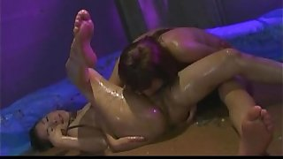 Uncensored Japanese Erotic Fetish Sex -  Les Rave 2 (Pt 11)