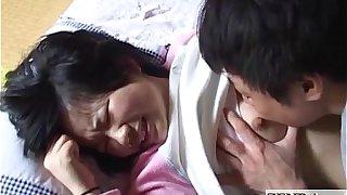 Innocent Japanese schoolgirl licked all over English subtitles