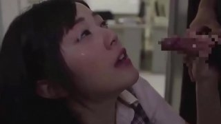 Asian office girls love sex