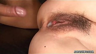 Rough neck Asian babe makes a dude fuck her pussy