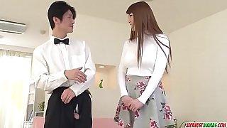 Hot japan girl Maki Koizumi play with sex toys