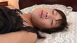 Hot japan girl Rico Kurusu crying when man friction her vagina