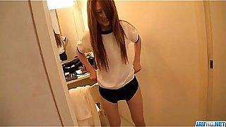 Asian schoolgirl,Sakamoto Hikari, amazing solo cam show