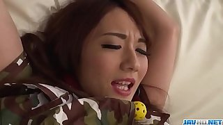 Hot japan girl Reon Otowa in BDSM porn scene