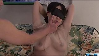 Rina Mayuzumi obedient girl receives rough toy play