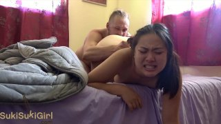 She squirts when he cums! ( @sukisukigirlreal / @andregotbars )