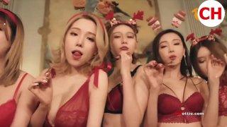 超美小姐姐们的圣诞节
