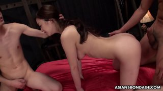 Maria Ono had a casual threesome with two horny guys