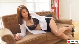 Japanese hot movie sex with her bos